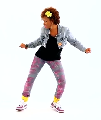 Hip Hop Butterfly Dancing